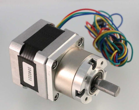 Geared NEMA17 Stepper Motor