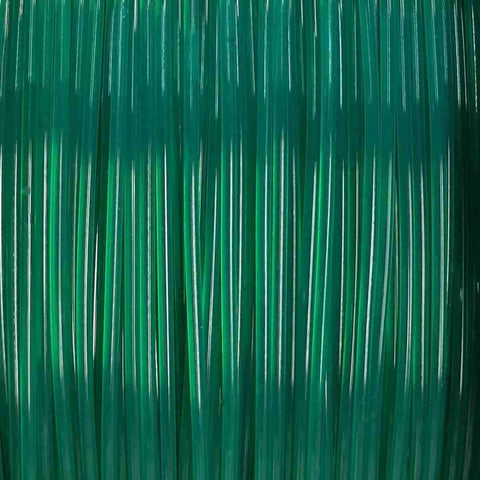 Premium Translucent Green PLA Filament, 1.75mm, 1KG Spool