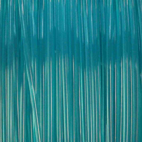 Premium Translucent Teal PLA Filament, 1.75mm, 1KG Spool