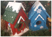 Christmas Bird Houses - Magical Moments Ireland