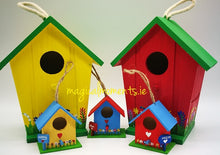 Hand-painted Bird Houses - Magical Moments Ireland