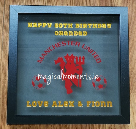 Bespoke Vinyl Print Frames (Box Frame) - Magical Moments Ireland