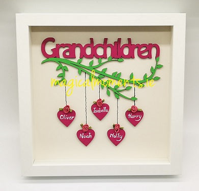 Grandchildren Frame (personalised) - Gift for Grandparents - Magical Moments Ireland