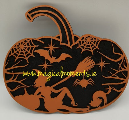 Pumpkin Halloween Decoration - Magical Moments Ireland