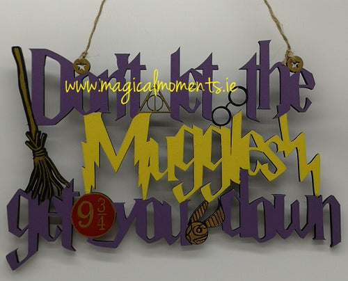 Harry Potter Halloween Sign - Magical Moments Ireland