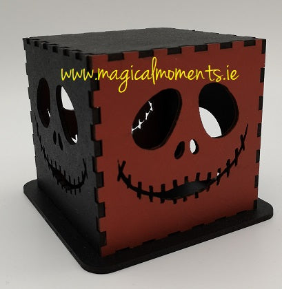 Jack Skeleton Halloween Light Lantern - Magical Moments Ireland