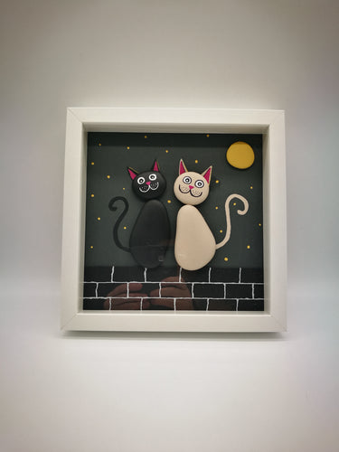 Stone Cats - Boxed Frames - Magical Moments Ireland