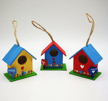 Mini Hand-painted Bird Houses - Magical Moments Ireland