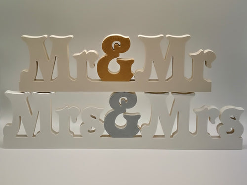 Wedding / Ceremony Signs - Hand-painted - Magical Moments Ireland