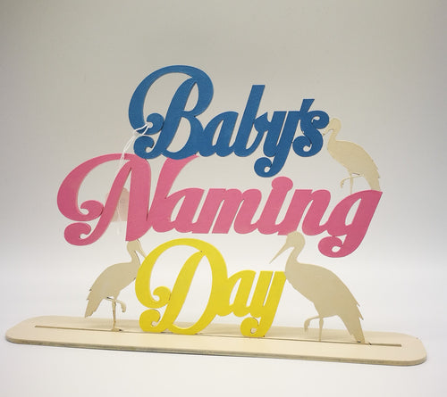 Christening/Naming Day Signs (personalised) - Magical Moments Ireland
