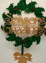 Season's Greetings Christmas Wreath - Magical Moments Ireland