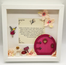 Fairy Door Box Frame (Personalised) - Magical Moments Ireland