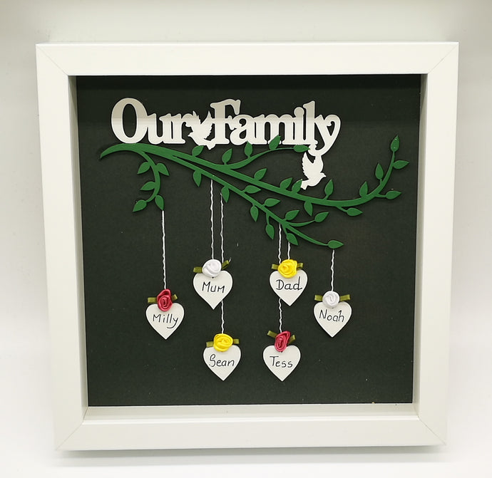 Our Family Frame (Customised) - Magical Moments Ireland