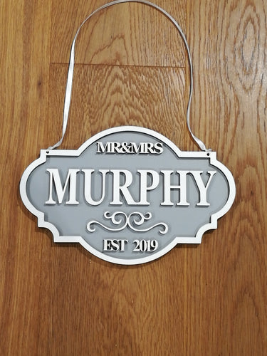Personalised Wedding Plaques - Magical Moments Ireland