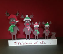 Christmas Reindeer Family (Personalised) - Magical Moments Ireland