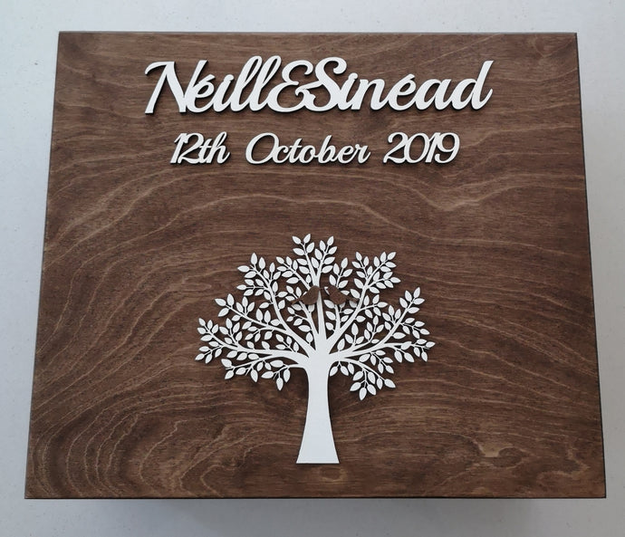 Personalised Gift Boxes For Memories & Keepsakes Rustic (Large) - Magical Moments Ireland