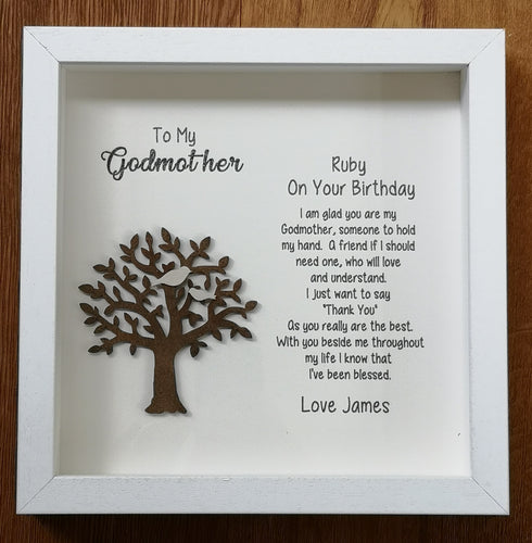 Godparent Frame - Personalised