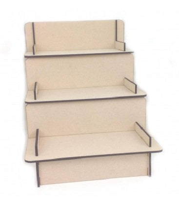 Display Shelving - 3 Shelves (6mm MDF) - Magical Moments Ireland