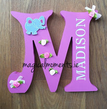 Wooden Letters - Personalised & Free-standing - Magical Moments Ireland