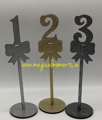 Table Numbers - Weddings & Events - Magical Moments Ireland
