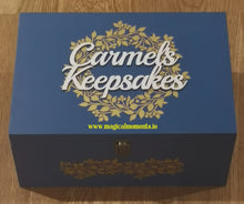 Memory / Keepsake Boxes - Large (Personalised)