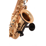 Saxophone stand Parker made by Locoparasaxo wall-mounted instrument stands