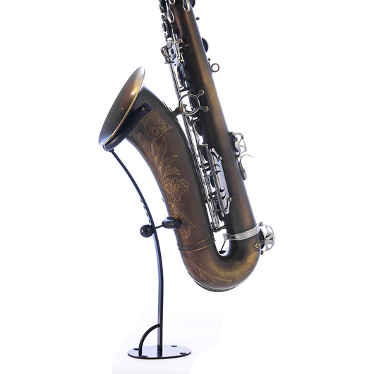 Saxophone stand Exhibit Brecker