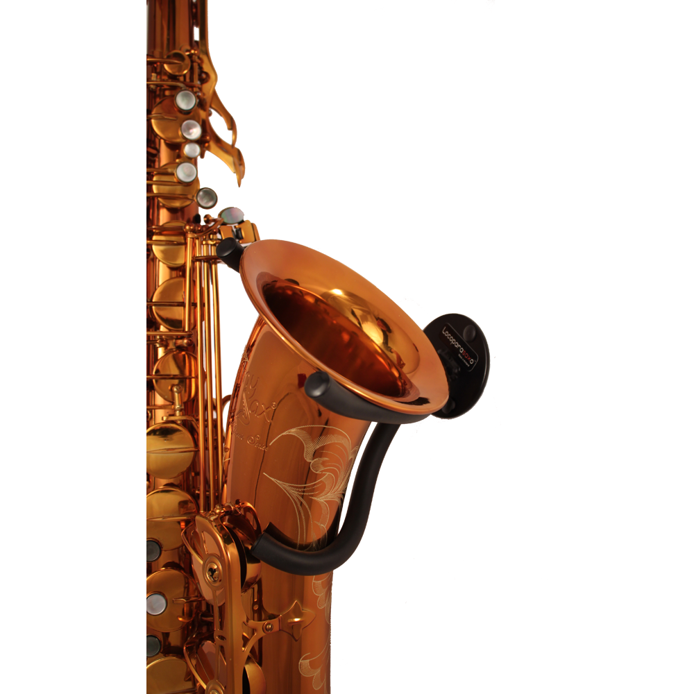 wall mounted stand for alto tenor saxophone locoparasaxo. Black Bedroom Furniture Sets. Home Design Ideas