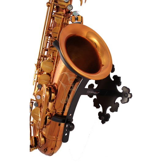 Saxophone stand Prince made by Locoparasaxo wall-mounted stands