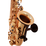Saxophone stand Parker made by Locoparasaxo wall-mounted instrument stands for jazz