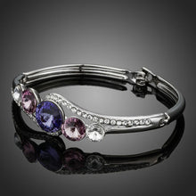 Load image into Gallery viewer, Classic Crystals Bangle -KBQ0045