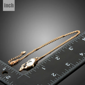 Golden Fish Shape Chain Necklace KPN0213