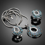 Animal Print Jewelry (Clip Earrings + Necklace Set) - KHAISTA Fashion Jewellery