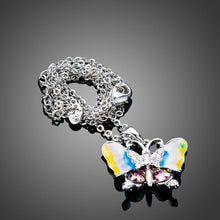 Load image into Gallery viewer, Artistic Butterfly Pendant Necklace - KHAISTA Fashion Jewellery