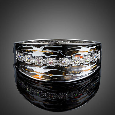 Artistic Windstorm Bangle - KHAISTA Fashion Jewellery