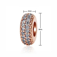 Load image into Gallery viewer, Authentic 925 Rose Gold Bead Pendant Bracelet Charms - KHAISTA