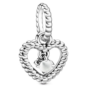 Birthstone Heart Dangle Charms - KHAISTA