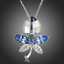 Load image into Gallery viewer, Blue Dragonfly Pendant Necklace KPN0153 - KHAISTA Fashion Jewellery
