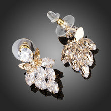 Load image into Gallery viewer, Butterfly On Leaf Drop Earrings - KHAISTA Fashion Jewellery