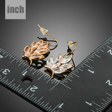 Load image into Gallery viewer, Butterfly Shaped Cubic Zirconia Drop Earrings - KHAISTA Fashion Jewellery