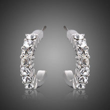 Load image into Gallery viewer, Classic Crystal Stud Earrings - KHAISTA Fashion Jewellery
