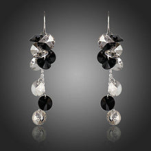 Load image into Gallery viewer, Cluster Crystal Drop Earrings - KHAISTA Fashion Jewellery