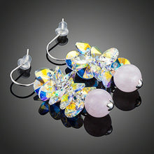 Load image into Gallery viewer, Cluster Gradient Bunch Drop Earrings - KHAISTA Fashion Jewellery