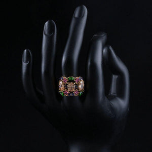 Colorful Party Ring for Women - KHAISTA Fashion Jewellery