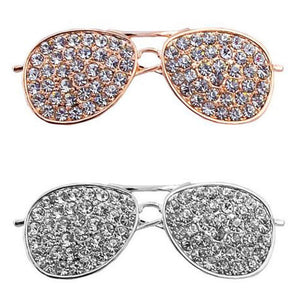 Cool Sunglass Brooch - KHAISTA Fashion Jewellery