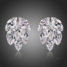 Load image into Gallery viewer, Coupled Cubic Zirconia Cluster Stud Earrings - KHAISTA Fashion Jewellery