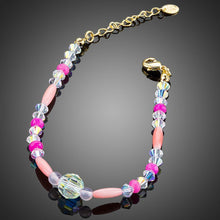 Load image into Gallery viewer, Crystal Beads Lobster Bracelet - KHAISTA Fashion Jewellery