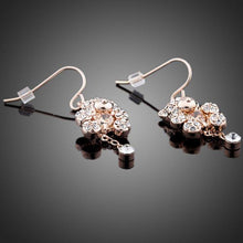 Load image into Gallery viewer, Crystal Teddy Bear Earrings - KHAISTA Fashion Jewellery
