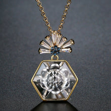 Load image into Gallery viewer, Crytal Pendant Necklace for Women KPN0283 - KHAISTA Fashion Jewellery