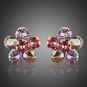 Daisy Flower Stud Earrings - KHAISTA Fashion Jewellery